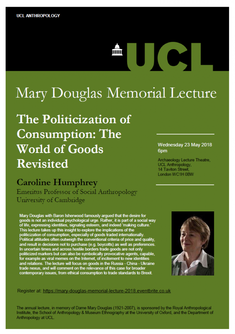mary douglas poster