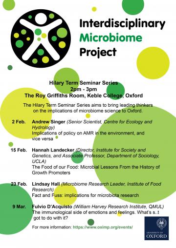IMP Seminar Series flyer